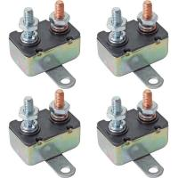Automatic / Modified / Manual Type 50Amp 12V - 24V DC Motor Circuit Breaker Metal Housing Manufactures