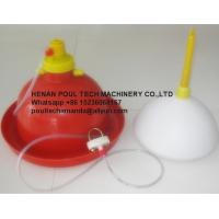 Poultry & Livestock Farm Plastic Red Orange Automatic Plasson Chicken Drinker for Chicken Floor Raising System Manufactures