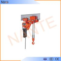 Low Headroom Electric Chain Hoist Electric Wire Rope Hoist 500kg Manufactures