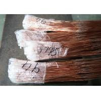 Capillary Tube Refrigeration Copper Pipe / Golden Refrigeration Copper Pipe Manufactures
