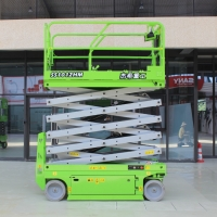 Portable hydraulic 8m 450kg capacity Elevated Lift Platform for indoor Manufactures