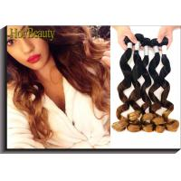 High Fasion Peruvian Hair 3tone Color Natural Wave Hair Extension Manufactures