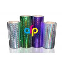 BOPP Laser Holographic Film For Lamination Machine 180mm - 1300mm Width Manufactures