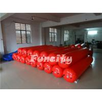 3M Length 0.5m diameter Red Color  Waterproof  Floating Water Tube for Water park  Enclosure Manufactures