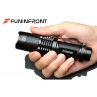 Quality 5 Gears Cree T6 1000LMs Zoomable LED Flashlight Working with 18650 Battery for sale