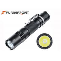 126 Meters High Light Range Powerful MINI CREE LED Flashlight with Pocket Clip Manufactures