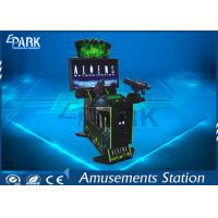 42 Inches Alien Video Arcade Shooting Simulator Machine For Game Center Manufactures