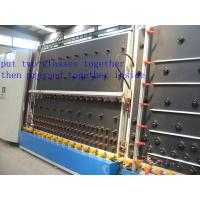 China Efficient double-layer glass processing machine cleaning and drying machine production line on sale