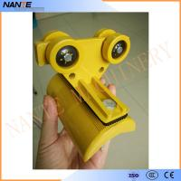 Safe , Efficient C Track and Festoon System Plastic Festoon Cable Trolley Manufactures