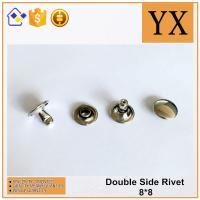 Buy cheap High Quality Bright Nickel Plate 8mm Metal Rivet For Decoration from wholesalers