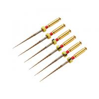 One Shape Protaper Gold Rotary Files , Nickel Titanium Rotary File Dental Manufactures