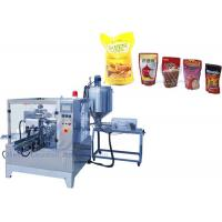Food Grade SS304 Premade Bag Packing Machine , Stand Up Bag Premade Pouch Filling Machine Manufactures