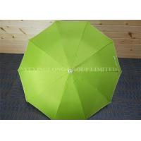 Waterproof Military Promotional Gifts Umbrellas Lime Green Rain Umbrella With Eva Handle Manufactures