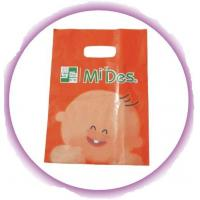 Quality Cute Die Cut Handle Bags For Clothes Shopping / Garment Plastic Bags for sale