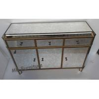 Quality Vintage Mirrored Side Board Overall Size W117 * D40 * H80cm Wooden Body for sale