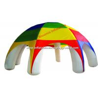 Giant Colored Inflatable Tent , Inflatable Advertising Tent Of PVC Tarpaulin Manufactures