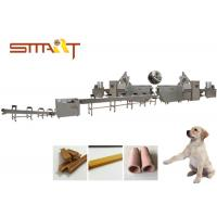 SS Material Automatic Dog Chew Bones Production Machine CE / ISO Certificated Manufactures