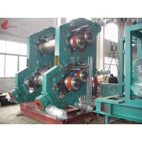 Alloy Chilled Cast Iron 4 Rollers Rubber Calender Machine 3-30m / min 0.3 – 6 mm Manufactures
