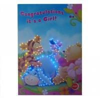 Paper LED customized Musical Greetings Cards with voice chip for birthday gifts Manufactures