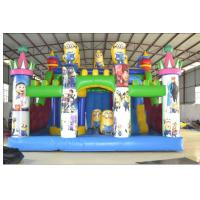 Colorful Custom Inflatable Products, Kids Bouncy Castle For Outdoor Manufactures