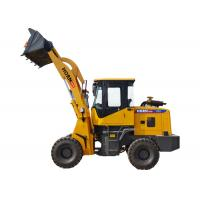 Professional Small Front End Loader , Caterpillar Compact Wheel Loader CE ISO Manufactures