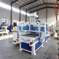 Double Tables CNC Wood Cutting Machine For Wooden Cabinets Doors Making Manufactures
