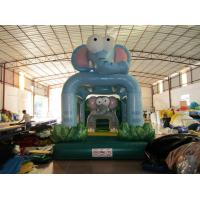 Buy cheap New Kids Inflatable Bounce House Cute Inflatable Elephants Mini Bouncer For Birthday Party Present from wholesalers