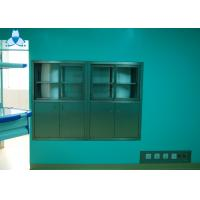 Hospital Air Clean Custom Medicine Cabinets , Anodized Embedded Stainless Steel Medicine Cabinet Manufactures