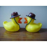 Quality Phthalates Free Personalised Rubber Duck With Hat / Geologist / Desert Driver for sale