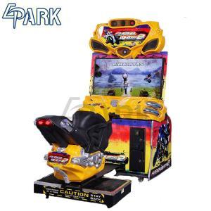 Indoor Adult Racing Game Machine , FF Motor Car Arcade Machine Manufactures
