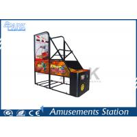 Coin Pusher Arcade Basketball Game Machine Normal Size 100W Manufactures