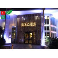 Quality AC 100 - 245V LED Channel Letter Signs Energy Saving For Decoration Signature for sale