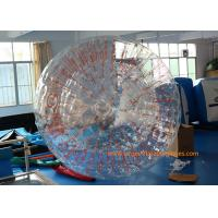 China 2.8*1.8m Transparent Inflatable Zorb Ball Inflatable Pool Zorb Hamster Ball on sale