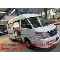 Quality Factory direct sale high quality and competitive price JINBEI gasoline transiting ambulance vehicle, ICU ambulance for sale