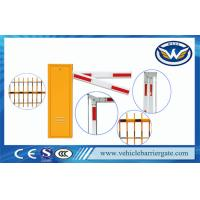 China IP54 Electric Boom Barrier Toll Barrier Gate With Aluminum Alloy Straight Arm on sale