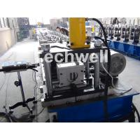 Solar Strut Channel Cold Roll Forming Machine With Servo Feeding Device & Press Punching Machine Manufactures