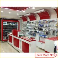 mobile phone shop interior design,mobile phone shop decoration,furniture design for mobile shop Manufactures