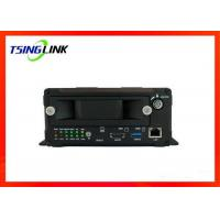 8 Channel Mobile NVR , 4G Network Camera DVR For Truck School Bus Manufactures