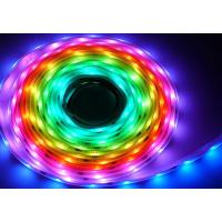 Wireless control 7.2W programmable led light strips rgb waterproof 12 volt for window Manufactures