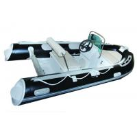 Quality 25HP Motor Inflatable Fishing Boats Rigid Hull Inflatable Boats 3.5 Meter Length for sale