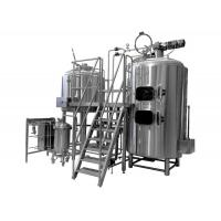 500L Brewing Equipment Stainless Steel Fermentation Tank Steam Jacket Brew Kettle Manufactures