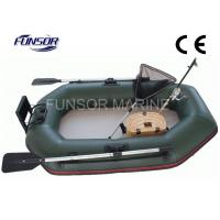 Durable 2m Folding Inflatable Boat With Air Mat Floor CE approved Manufactures