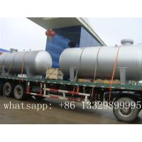 CLW hot sale 50000L bulk LPG gas storage tank for sale, factory price 20 metric tons bulk surface lpg gas tank for sale Manufactures