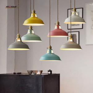 Quality Modern led chandelier lighting for Living room Kitchen Iron Lampshade Lustre de for sale