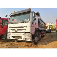 8x4 Driven 40 Ton Heavy Duty Dump Truck Howo 12 Wheel For 30 Cubic Cargo Manufactures