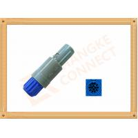 Plastic Male Plug Push Pull 14 Pin Circular Connector PVC Insulation Manufactures