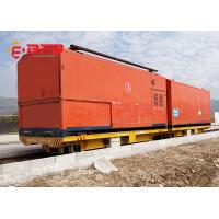 Production line apply battery powered delivery electric flat car on rail Manufactures