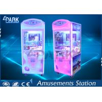 CE Certificate Arcade Grabber Machine / Claw Toy Machine 50 KG Different Color Manufactures