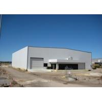 Prefabricated Steel Frame Building / Painting Airplane Hangar Construction Manufactures