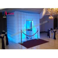 Colorful Romantic Inflatable Photo Booth Wedding Props For Party Digital Print Manufactures